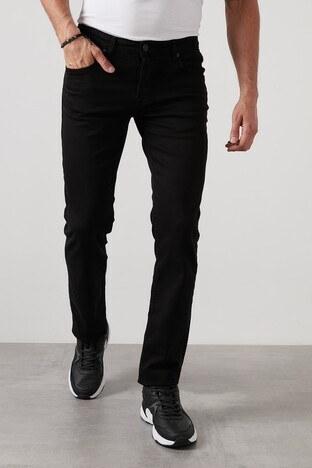 Buratti Regular Fit Boru Paça Jeans Erkek Kot Pantolon 7283S064PORTO SİYAH