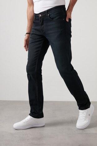 Buratti - Buratti Regular Fit Boru Paça Pamuklu Jeans Erkek Kot Pantolon 7420H058PORTO LACİVERT