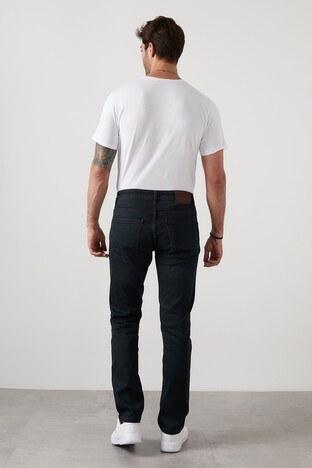 Buratti Regular Fit Boru Paça Pamuklu Jeans Erkek Kot Pantolon 7420H058PORTO LACİVERT