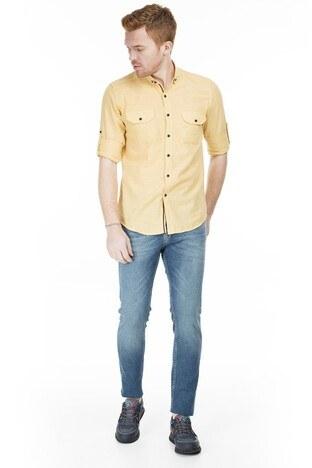 Buratti - Buratti Regular Fit Jeans Erkek Kot Pantolon 7267G810ZAGOR AÇIK MAVİ