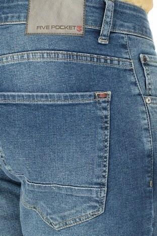 Buratti Regular Fit Jeans Erkek Kot Pantolon 7267G810ZAGOR AÇIK MAVİ