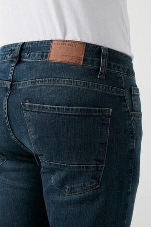 Buratti Regular Fit Pamuklu Jeans Erkek Kot Pantolon 7267E154ZAGOR MAVİ-HAKİ
