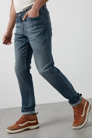 Buratti Regular Fit Pamuklu Jeans Erkek Kot Pantolon 7267F138ZAGOR MAVİ