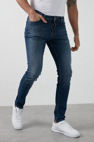 Buratti - Buratti Regular Fit Pamuklu Jeans Erkek Kot Pantolon 7267F189ZAGOR MAVİ