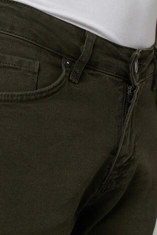 Buratti Regular Fit Pamuklu Jeans Erkek Kot Pantolon 7267F4132ZAGOR KOYU HAKİ