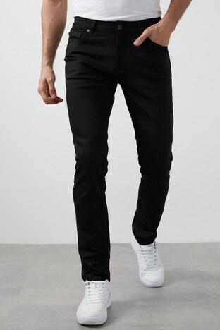 Buratti - Buratti Regular Fit Pamuklu Jeans Erkek Kot Pantolon 7267N175ZAGOR SİYAH