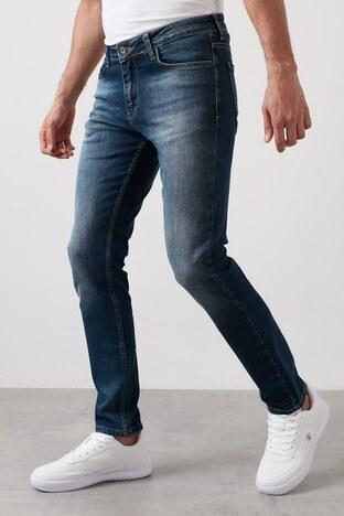 Buratti - Buratti Regular Fit Pamuklu Jeans Erkek Kot Pantolon 7267S130ZAGOR MAVİ