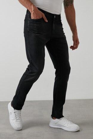 Buratti - Buratti Regular Fit Pamuklu Jeans Erkek Kot Pantolon 7267S168ZAGOR SİYAH