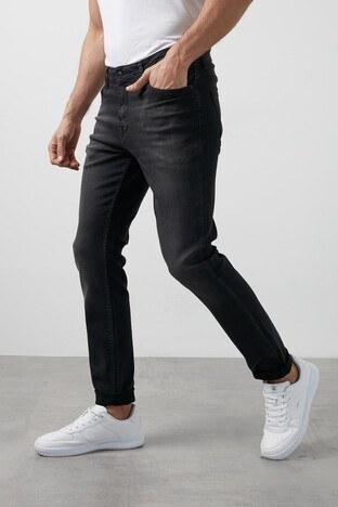 Buratti - Buratti Regular Fit Pamuklu Jeans Erkek Kot Pantolon 7267S908ZAGOR SİYAH