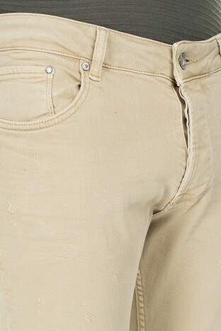Buratti Skinny Jeans Erkek Kot Pantolon 7302F7333GHOST CAMEL