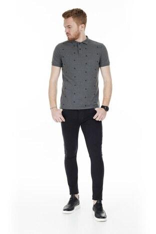 Buratti - Buratti Skinny Jeans Erkek Kot Pantolon 7302F733GHOST SİYAH