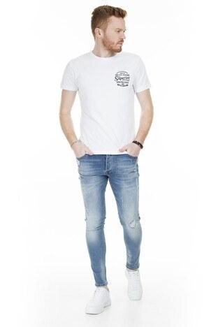 Buratti - Buratti Skinny Jeans Erkek Kot Pantolon 7302N9401GHOST AÇIK MAVİ