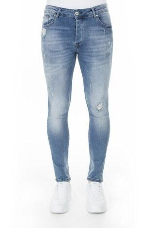 Buratti Skinny Jeans Erkek Kot Pantolon 7302N9401GHOST AÇIK MAVİ