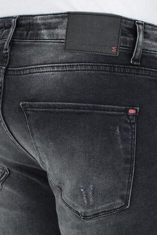 Buratti Skinny Jeans Erkek Kot Pantolon 7302N942GHOST SİYAH