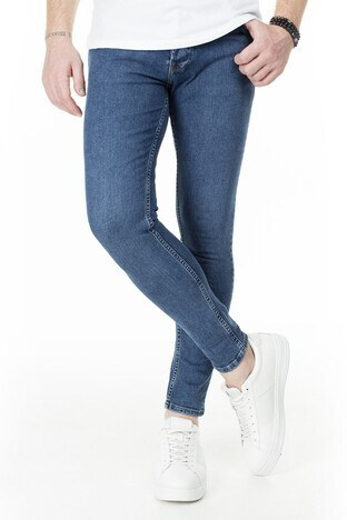 Buratti - Buratti Skinny Jeans Erkek Kot Pantolon 7307S9131GHOST MAVİ