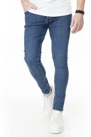 Buratti Skinny Jeans Erkek Kot Pantolon 7307S9131GHOST MAVİ
