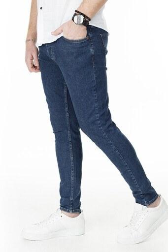 Buratti Skinny Jeans Erkek Kot Pantolon 7307S913GHOST LACİVERT