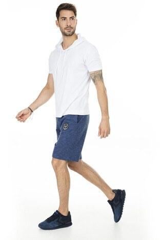 Buratti Slim Fit Büyük Beden Seçeneğiyle Erkek Short 1592019 İNDİGO