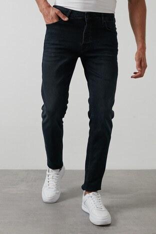 Buratti - Buratti Slim Fit Dar Paça Pamuklu Jeans Erkek Kot Pantolon 7287U867BARTEZ LACİVERT