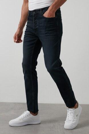Buratti Slim Fit Dar Paça Pamuklu Jeans Erkek Kot Pantolon 7287U867BARTEZ LACİVERT