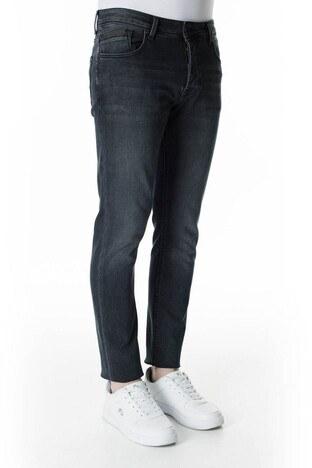 Buratti Slim Fit Dar Paça Pamuklu Jeans Erkek Kot Pantolon 7287U868BARTEZ AÇIK LACİVERT