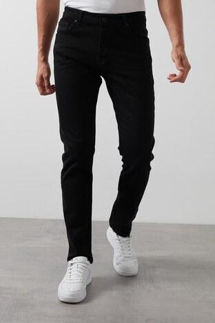Buratti - Buratti Slim Fit Dar Paça Pamuklu Jeans Erkek Kot Pantolon 7294F044ARTOS SİYAH