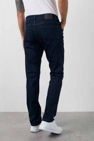 Buratti Slim Fit Dar Paça Pamuklu Jeans Erkek Kot Pantolon 7429F186NEWARTOS KOYU MAVİ