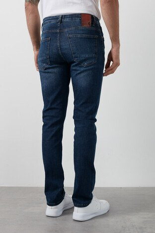 Buratti Slim Fit Dar Paça Pamuklu Jeans Erkek Kot Pantolon 7429F189NEWARTOS MAVİ