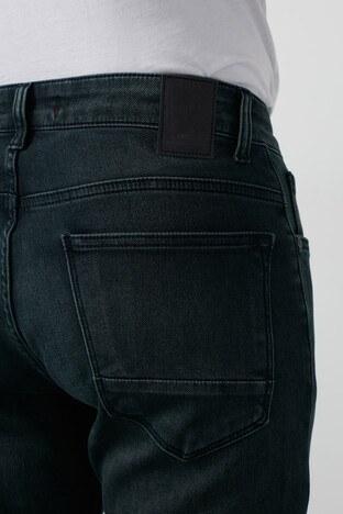 Buratti Slim Fit Dar Paça Pamuklu Jeans Erkek Kot Pantolon 7429H995NEWARTOS MAVİ-HAKİ