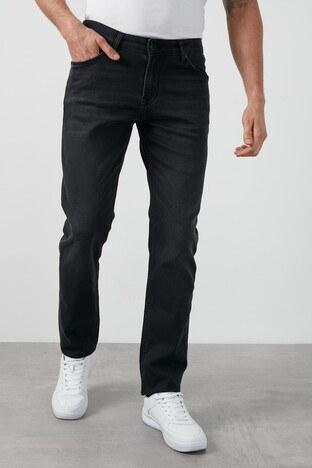 Buratti Slim Fit Dar Paça Pamuklu Jeans Erkek Kot Pantolon 7429H997NEWARTOS SİYAH