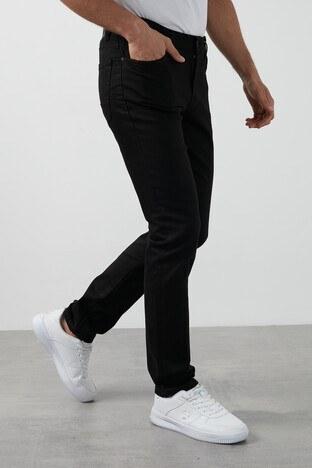 Buratti - Buratti Slim Fit Dar Paça Pamuklu Jeans Erkek Kot Pantolon 7429N175NEWARTOS SİYAH