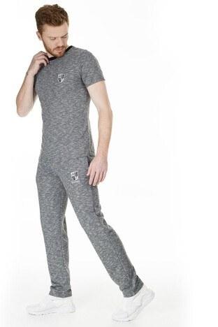 Buratti - Buratti Slim Fit Erkek Eşofman Altı 1597006 GRİ