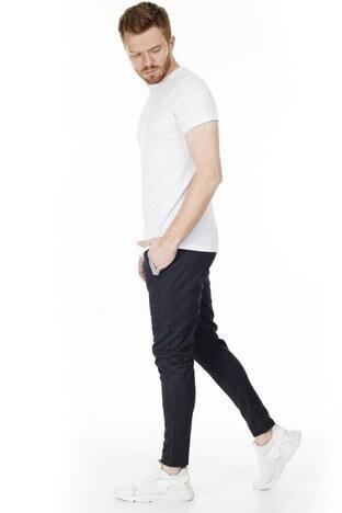 Buratti Slim Fit Erkek Eşofman Altı 1597017 SİYAH-GRİ