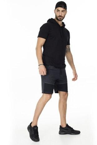 Buratti Slim Fit Erkek Short 568R167 ANTRASİT
