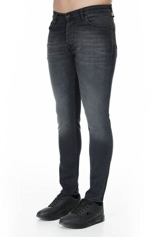 Buratti Slim Fit Jeans Erkek Kot Pantolon 7209F010BARTEZ FÜME