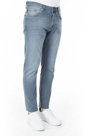 Buratti Slim Fit Jeans Erkek Kot Pantolon 7287U622BARTEZ AÇIK MAVİ