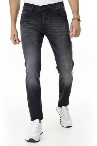 Buratti - Buratti Slim Fit Jeans Erkek Kot Pantolon 7287U869BARTEZ KOYU GRİ