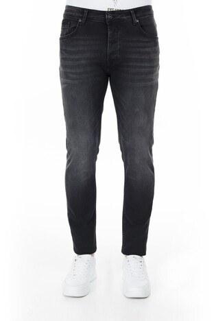 Buratti Slim Fit Jeans Erkek Kot Pantolon 7287U869BARTEZ SİYAH