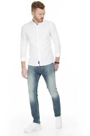 Buratti - Buratti Slim Fit Jeans Erkek Kot Pantolon 7290U887BARTEZ MAVİ