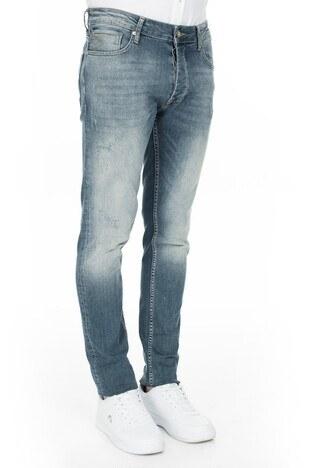 Buratti Slim Fit Jeans Erkek Kot Pantolon 7290U887BARTEZ MAVİ