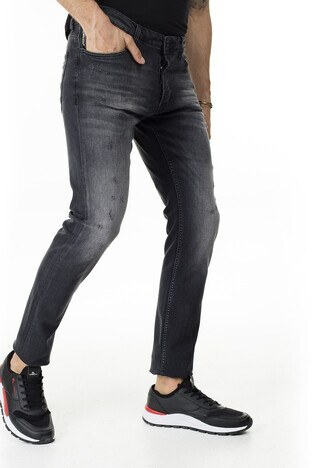 Buratti Slim Fit Jeans Erkek Kot Pantolon 7293F217BARTEZ SİYAH