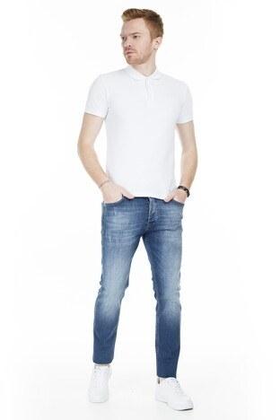 Buratti Slim Fit Jeans Erkek Kot Pantolon 7297H878ARTOS KOYU MAVİ