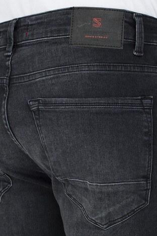 Buratti Slim Fit Jeans Erkek Kot Pantolon 7297H879ARTOS SİYAH