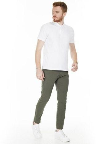 Buratti - Buratti Slim Fit Jeans Erkek Kot Pantolon 7299F0281ARTOS YEŞİL