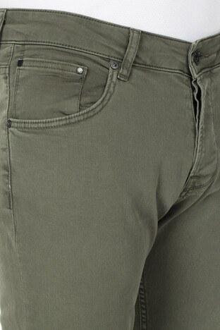 Buratti Slim Fit Jeans Erkek Kot Pantolon 7299F0281ARTOS YEŞİL