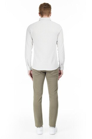 Buratti Slim Fit Jeans Erkek Kot Pantolon 7299F0282ARTOS HAKİ