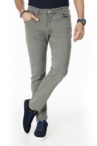 Buratti - Buratti Slim Fit Jeans Erkek Kot Pantolon 7299F0284ARTOS YEŞİL