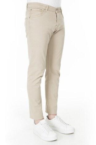 Buratti Slim Fit Jeans Erkek Kot Pantolon 7299F0285ARTOS BEJ