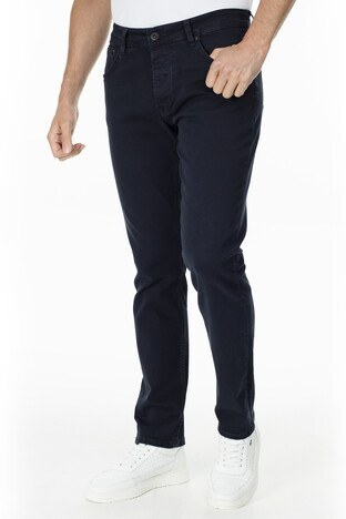 Buratti - Buratti Slim Fit Jeans Erkek Kot Pantolon 7299F028ARTOS LACİVERT