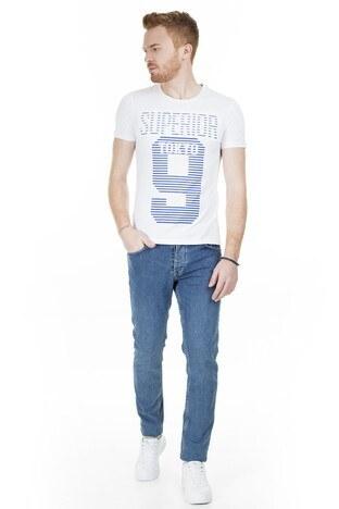 Buratti - Buratti Slim Fit Jeans Erkek Kot Pantolon 7306H9642BARTEZ MAVİ